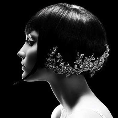 Short Haircuts for Brides-7