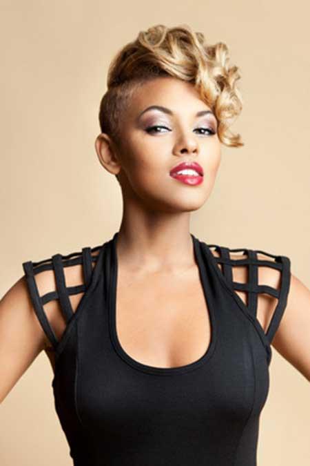 Groovy 25 Best Short Hairstyles For Black Women 2014 Short Hairstyles Hairstyles For Women Draintrainus