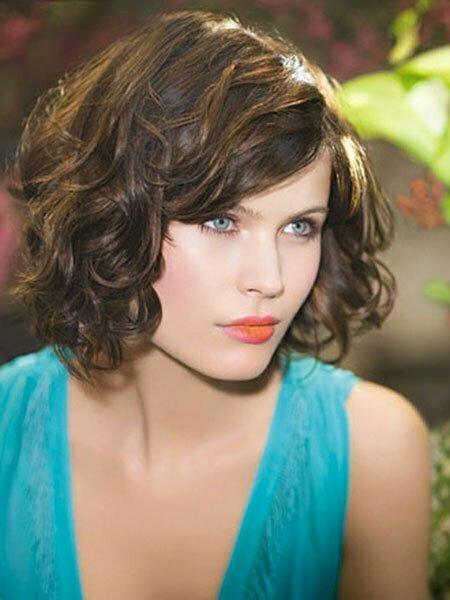 Wonderful Pics Photos  Best Short Haircuts For Curly Hair 2013