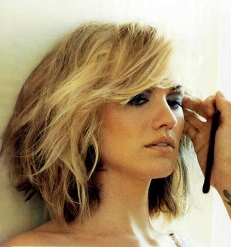 Blonde Short Hairstyles 2014