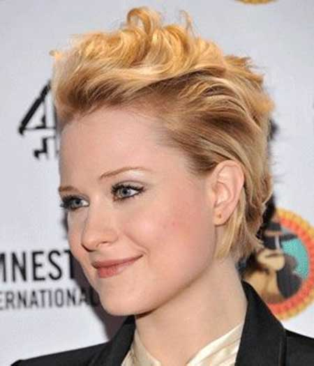 Evan Rachel Wood Short Haircut