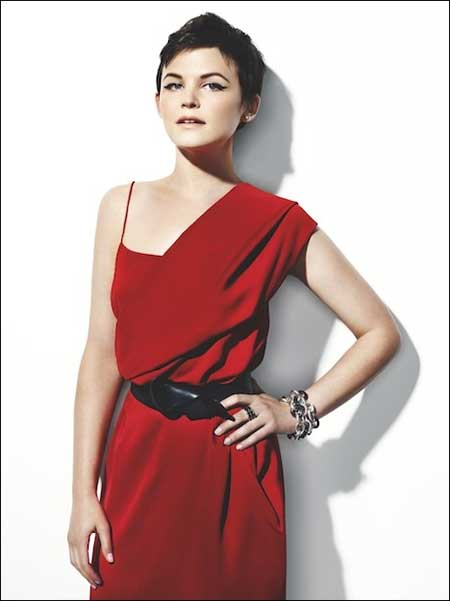 Ginnifer Goodwin Short Hair Pixie