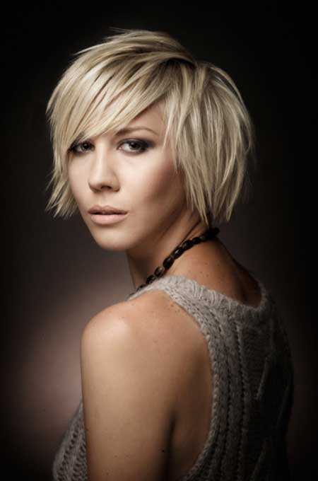 Light Blonde Bob Hairstyle