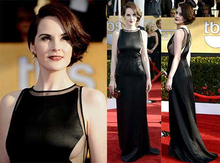 Michelle Dockery Short Haircut