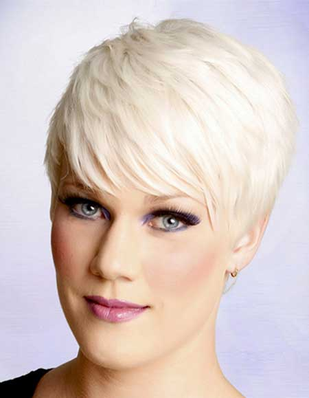 Platinum Pixie Haircut