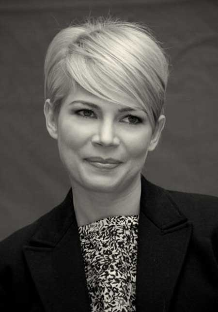 Short Blonde Hair women