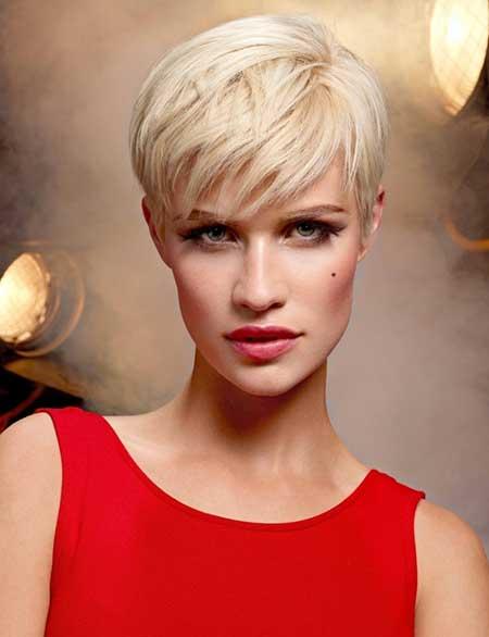 Awe Inspiring 25 Short Blonde Haircuts 2013 2014 Short Hairstyles 2016 Hairstyles For Men Maxibearus