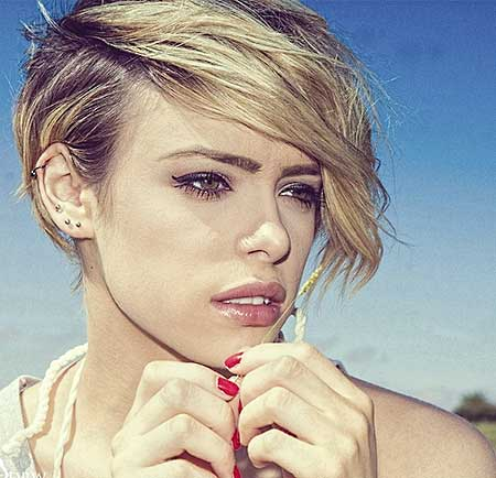Short Blonde Hairstyles 2014_2