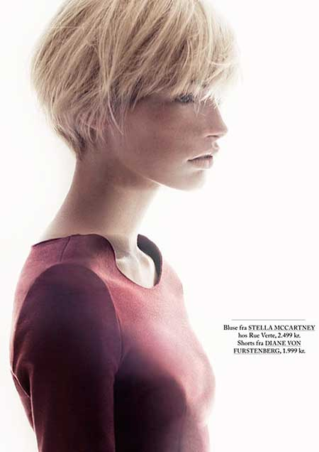 Short Blonde Hairstyles 2014_7