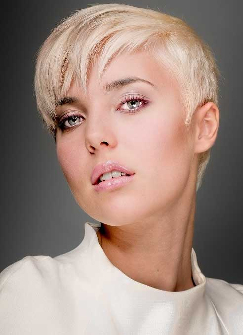 Short Blonde Hairstyles 2014_8