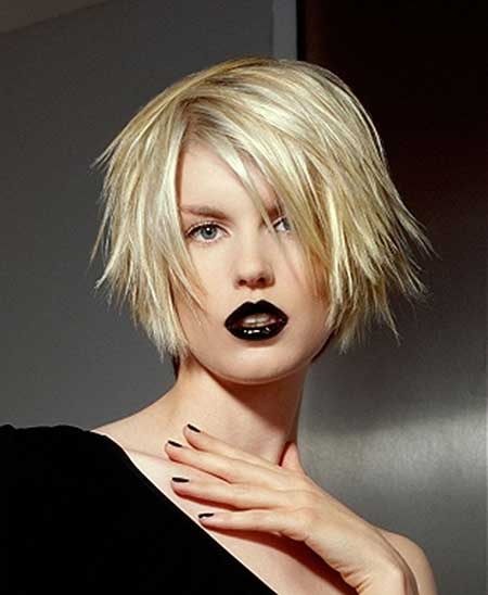 Short Blonde Hairstyles 2014_9