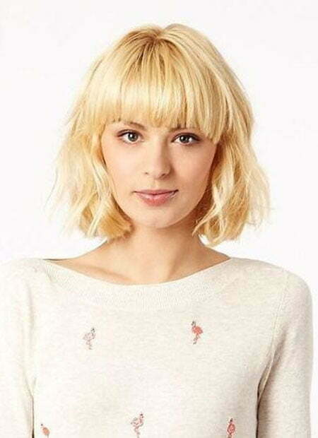Short Haircut Blonde