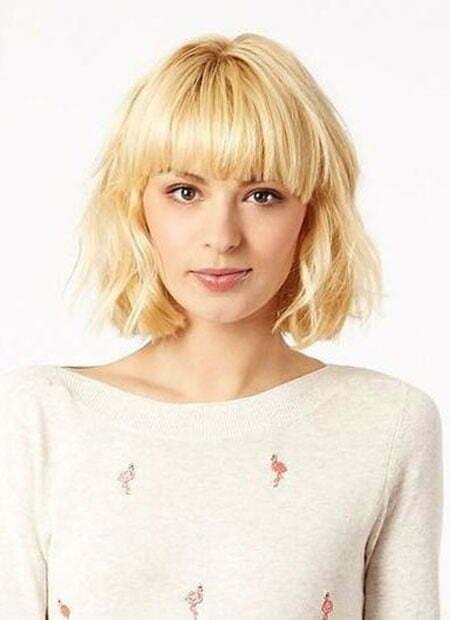 Short Haircut Blonde
