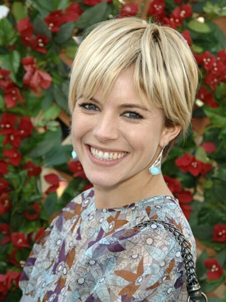 Sienna Miller Cute Hair