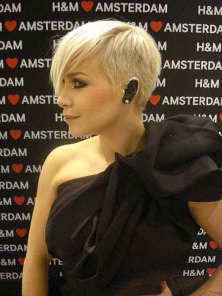 Victoria Koblenko Short Haircut