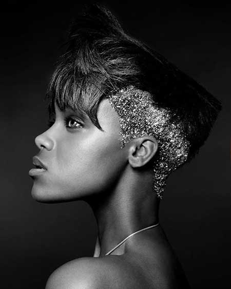 black girl short haircuts