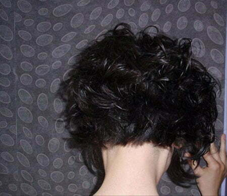 curly back