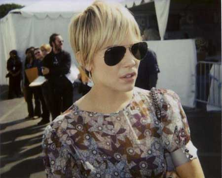 Cute Short Pixie With Long Pieced Layers