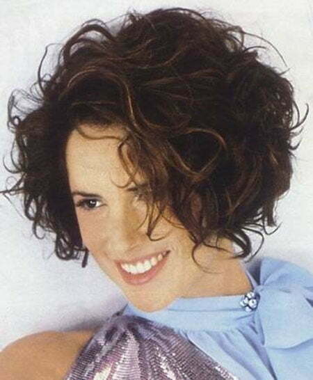 dark curly