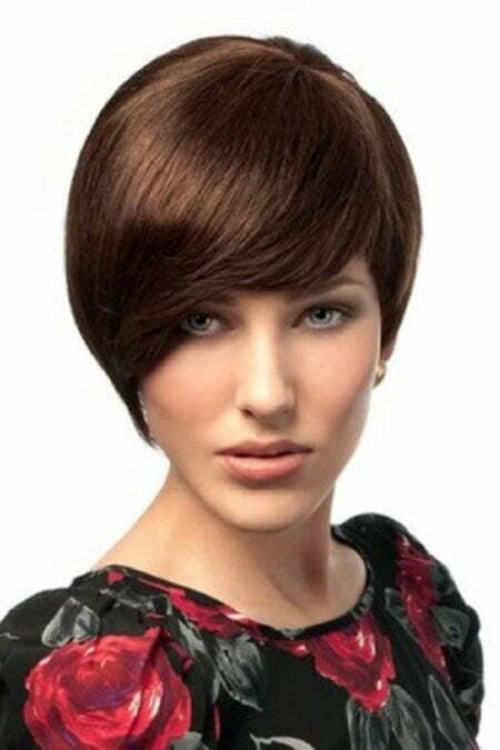 hairstyle for short straight hair