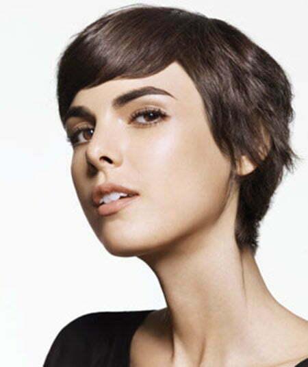 short straight-haircut