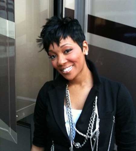 monica hair style 25 best hairstyles for black 2014 8728 | short styles for black women