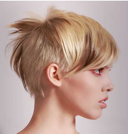 Trendy color / Asymmetrical Blonde