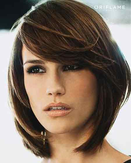 Straight Delightful Layered Bob
