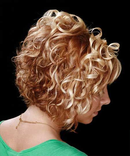 Swell 35 Best Short Curly Hairstyles 2013 2014 Short Hairstyles 2016 Hairstyle Inspiration Daily Dogsangcom
