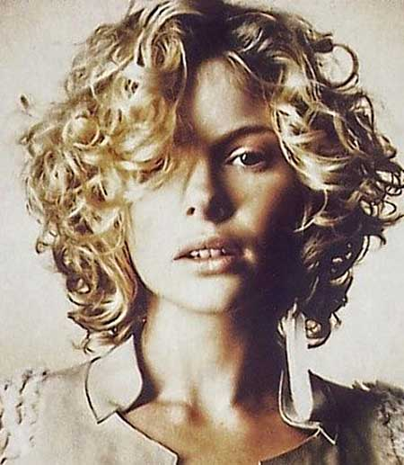 Marvelous 35 Best Short Curly Hairstyles 2013 2014 Short Hairstyles 2016 Hairstyles For Women Draintrainus