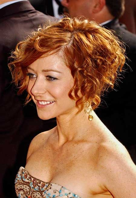 Awesome 35 Best Short Curly Hairstyles 2013 2014 Short Hairstyles 2016 Hairstyles For Men Maxibearus