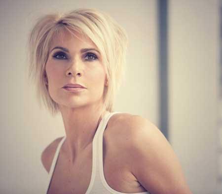 Sensational Latest Short Blonde Hairstyles Short Hairstyles 2016 2017 Short Hairstyles Gunalazisus