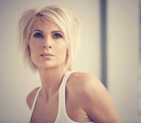 Brilliant Latest Short Blonde Hairstyles Short Hairstyles 2016 2017 Hairstyle Inspiration Daily Dogsangcom