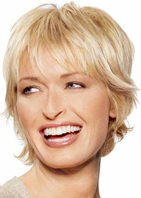 Latest Short Blonde Hairstyles_4