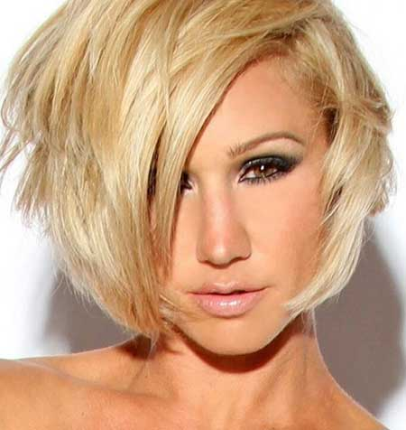 Latest Short Blonde Hairstyles_8
