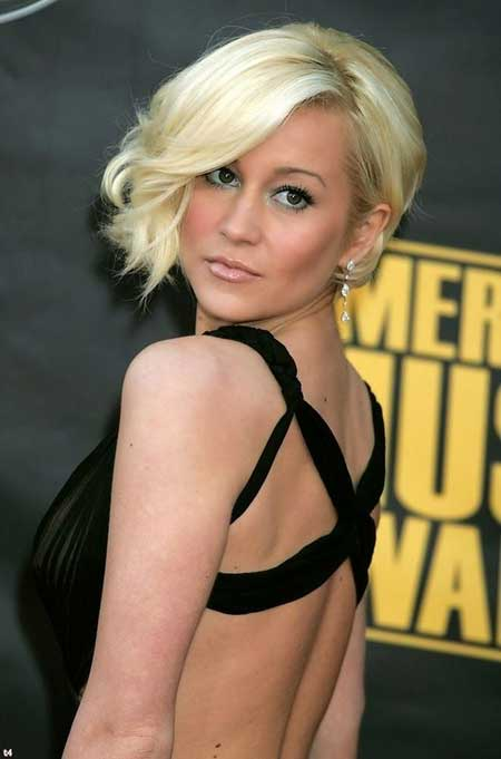 Latest Short Blonde Hairstyles_9