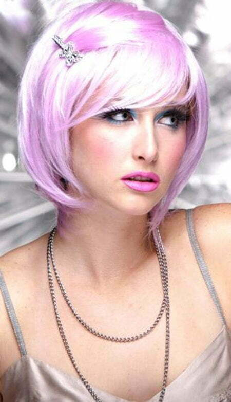 20 Cute Colors for Short Hair_11