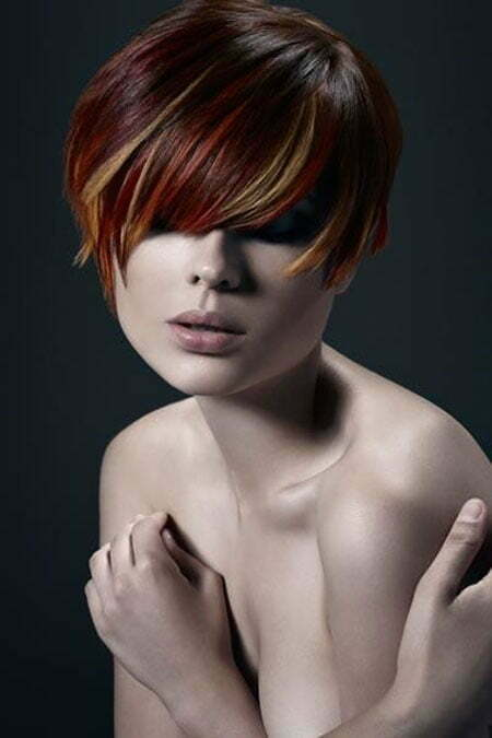 20 Cute Colors for Short Hair_13