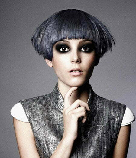 20 Cute Colors for Short Hair_3