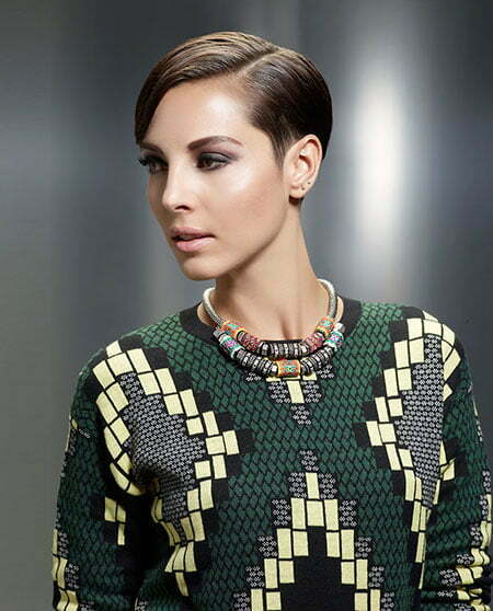 20 Straight Hairstyles for Short Hair_14