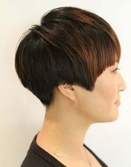 20 Straight Hairstyles for Short Hair_2