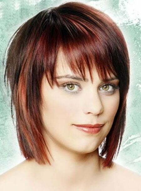 20 Straight Hairstyles for Short Hair_7