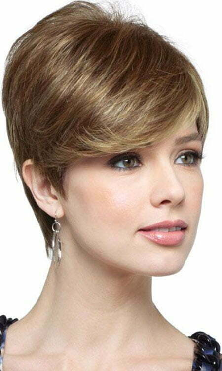 20 Straight Hairstyles for Short Hair_8