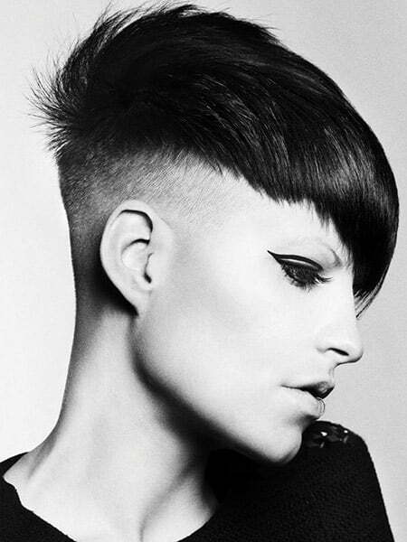 Amazing Pixie Cut with Awesome Undercuts