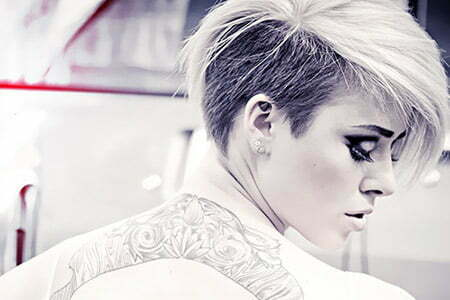 Awesome Undercut Hairstyle with Powerful Top