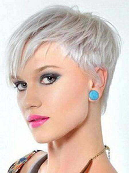 Lovely and Stylish Pixie Cut