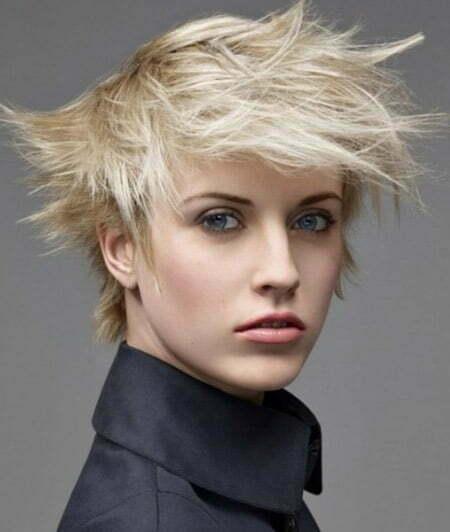 Platinum Short Hair