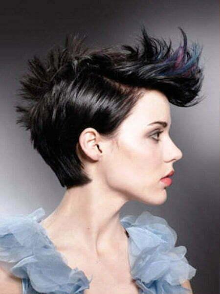 Short Punk Hair