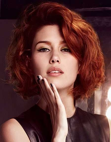 20 Best Short Wavy Hairstyles_11