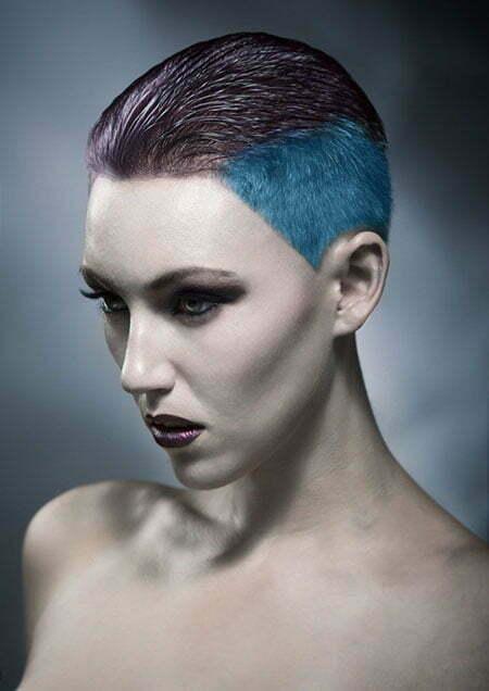 20 Color Ideas for Short Hair_13
